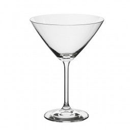 Set 2 pahare cristal pentru Martini, Bohemia Royal, 2FOR2, 285 ml